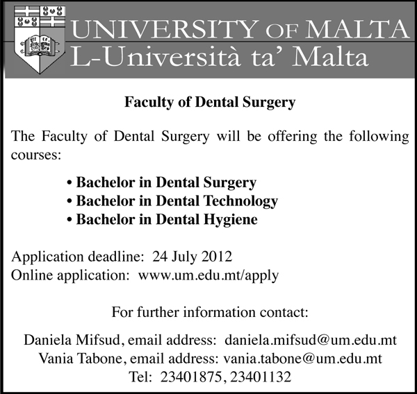 Courses in Dental Surgery