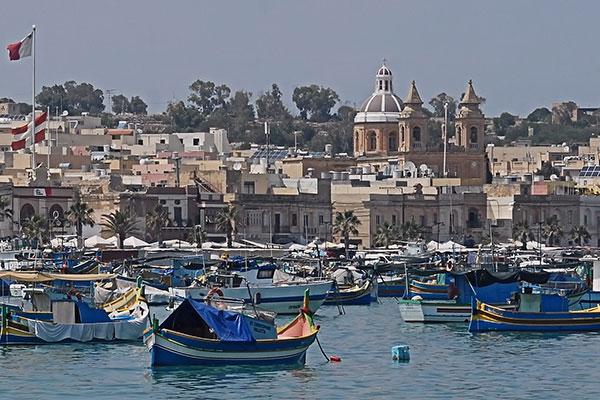 Marsaxlokk fishing boats - Adriana Vella