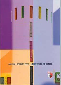 Annual Report Cover 2001