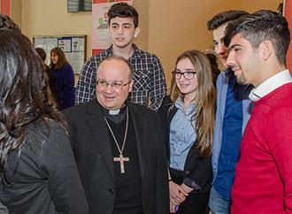Archbishop at JC