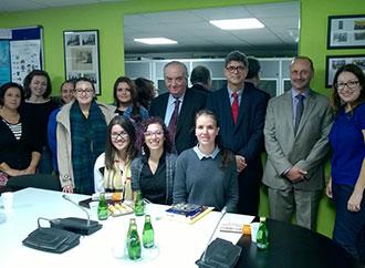 Carlos Alegria's official visit to University of Malta