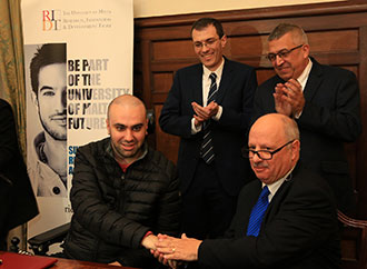 ALS Malta Foundation to fund doctoral research programme through RIDT