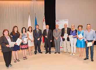 CLAS certificate award ceremony
