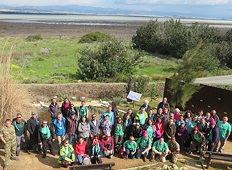 Group photo - BioBlitz event in Cyprus with underwater drone