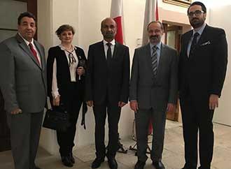 Group photo - GCTP visit UM