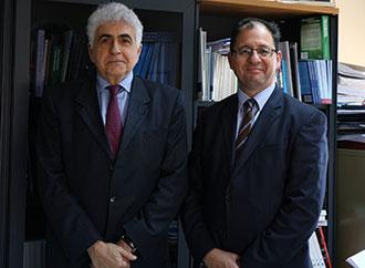 Dr Nassif Hitti and Prof. Stephen Calleya