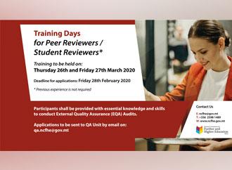 NCFHE Training Seminar