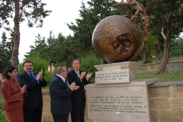 Climate Change Monument