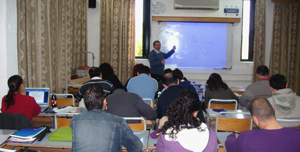 Students at the Gozo Campus