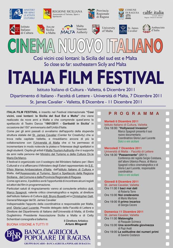 Italia Film Festival 2011