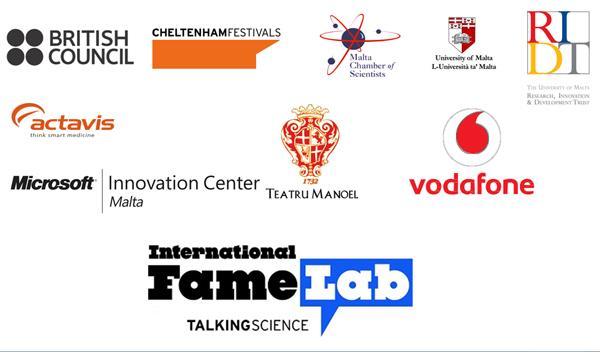 FameLab logos