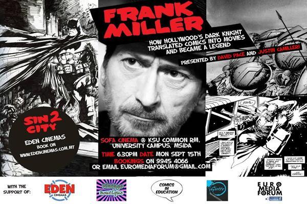 Frank Miller Event