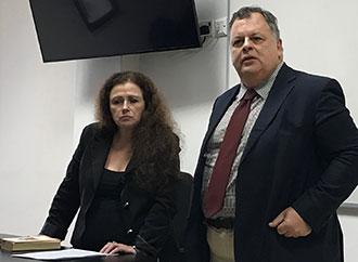 Prof. Gloria Lauri-Lucente, Dr Salvatore Schirmo