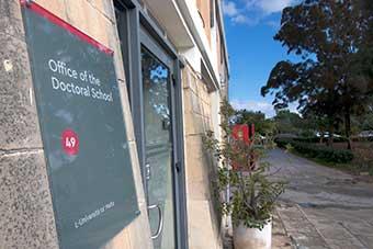 Doctoral School entrance