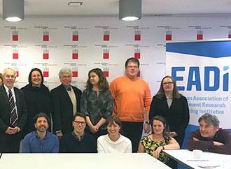 Group photo - EADI annual meeting