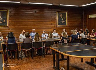 PROMEHS meeting with Prof. Godfrey Baldacchino