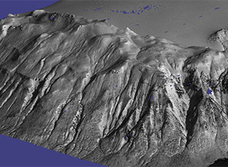 3D reconstruction of land surface from satellite images