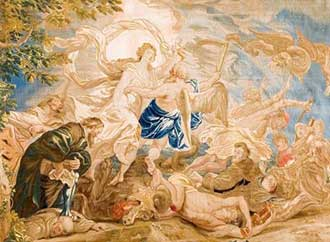 Tapestry Rubens time truth