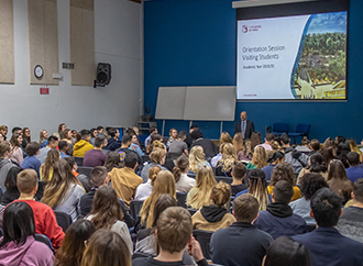 Orientation Day for International Students 2020