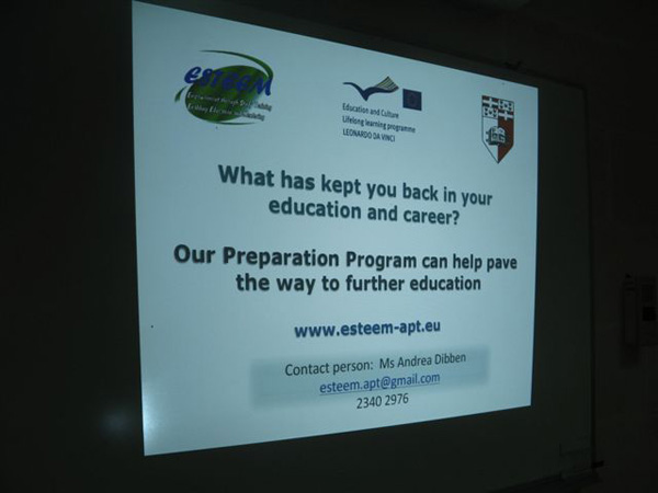 Project to help Persons held back from Higher Education