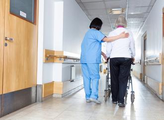 nurses in action
