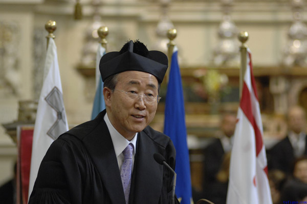 Honoris Causa - Ban Ki-moon