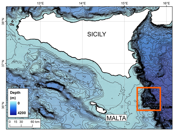 Scientists to explore submarine canyons in the central Mediterranean Sea