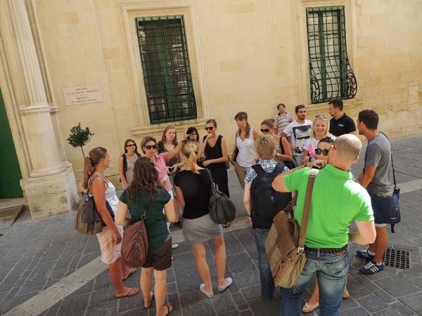 Erasmus University Students Learn Maltese