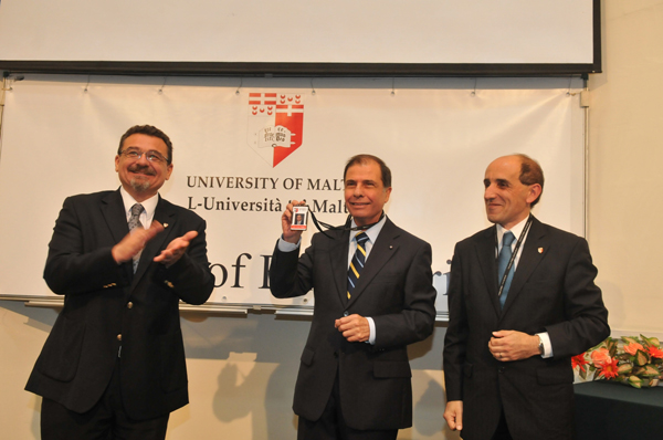 President Goerge Abela visits the Faculty of Engineering