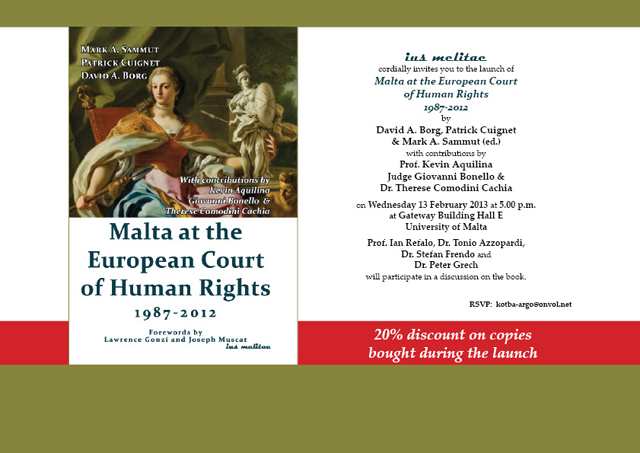 Malta at the European Court of Human Rights