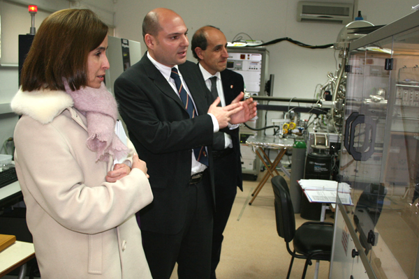 Consul General of Colombia visits the University of Malta