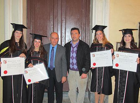 Oceanography graduates