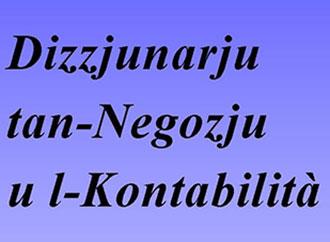 Dizzjunarju tan-Negozju u l-Kontabilità