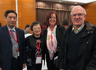 Prof. Ji Nengwen, Prof. Lilly Cheng, Pro-Rector Carmen Sammut, and Prof. Anthony J. Frendo