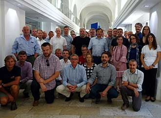 Group photo - European Research Vessel Operators meeting