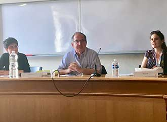 Prof. Peter Mayo at Paris Conference