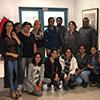 Group photo - first cohort on Certificate for graduates of non-EU/EEA nursing programmes