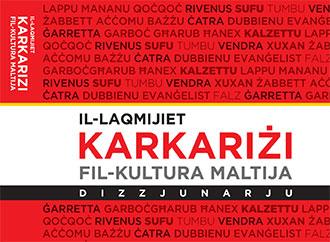 Book cover - Il-Laqmijiet Karkariżi fil-Kultura Maltija