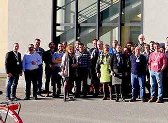 Group photo: Stefano Moncada at Mediterranean Experts on Climate and Environmental Change (MedECC) meeting