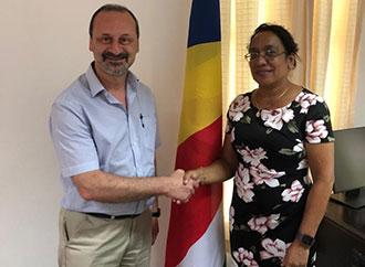 Prof. Baldacchino in Seychelles
