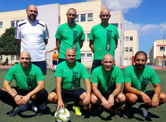 UM football team 5-aside
