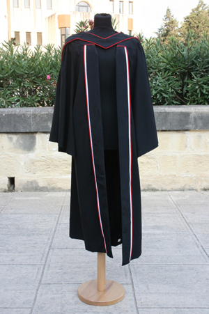 New Ph.D. and Master\'s Gowns - University of Malta