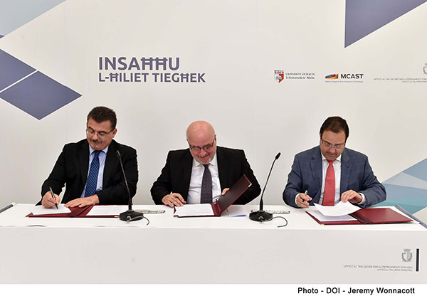 Agreement for Further Collaboration between University of Malta and Public Service