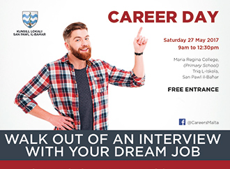 Career Day poster