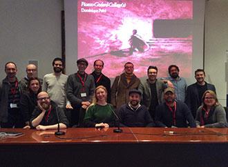 Group photo - M.A. Film Studies