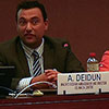 Alan Deidun at UN meeting in Geneva