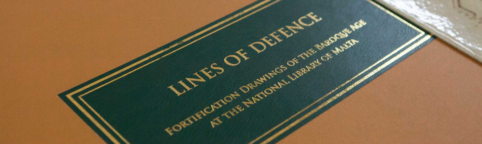 Book cover - Lines of Defence