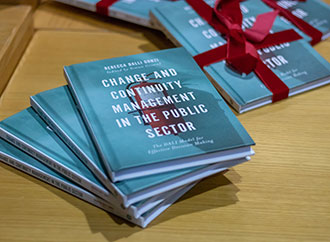 Book launch - Change and Continuity Management in the Public Sector