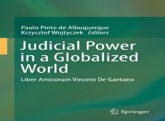 Book entitled Judicial Power in a Globalized World
