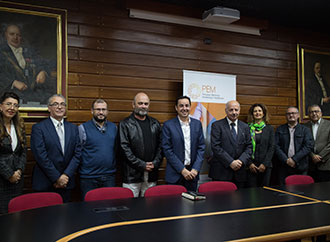 Group photo - Academics from various Faculties at the University of Malta and researchers from other entities together with Rector Prof. Alfred J. Vella